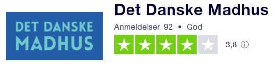 Det Danske Madhus Trustpilot